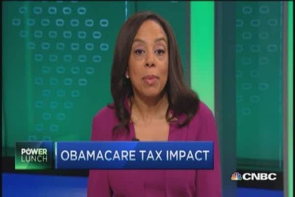 Obamacare tax impact