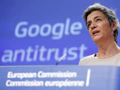 Margrethe Vestager speaking