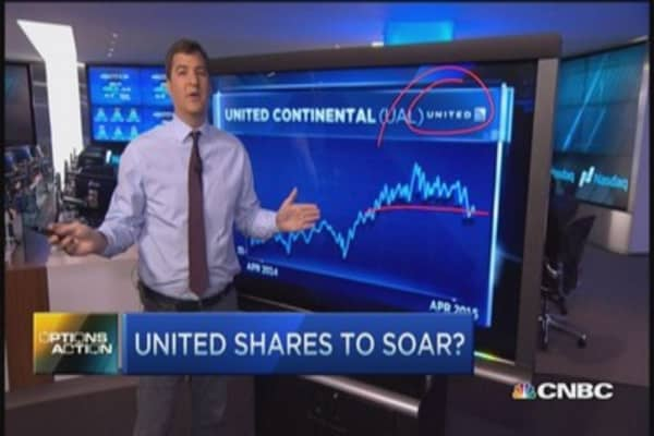 United shares to take off?