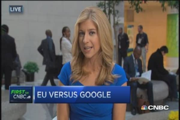 EU antitrust vs. Google