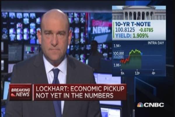 Murky economic picture not ideal: Lockhart