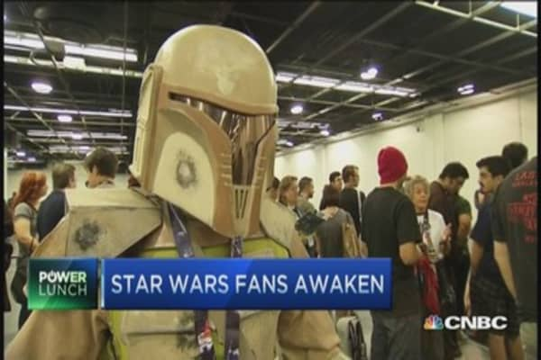 Star Wars celebration in CA
