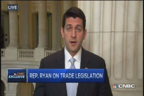Congress in the driver's seat: Paul Ryan