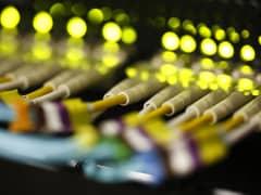 Fiber optic cables server