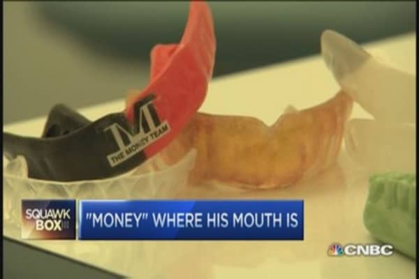 How Mayweather protects multi-million dollar grill