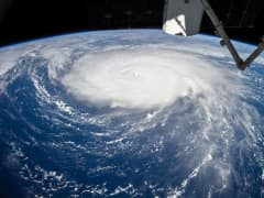 Hurricane Gonzalo seen from International Space Station