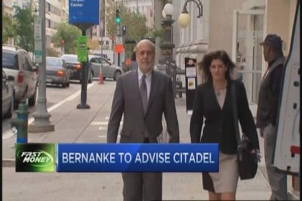 Trader outraged at Bernanke's hedge fund gig