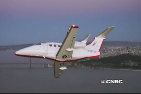Jet Suite gets trendy in San Fran