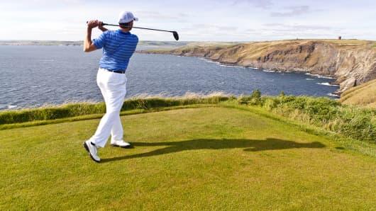 golf golfer