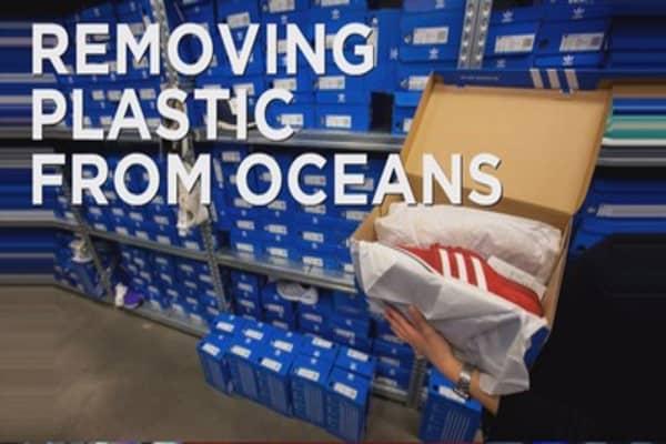 Adidas turning trash into trainers