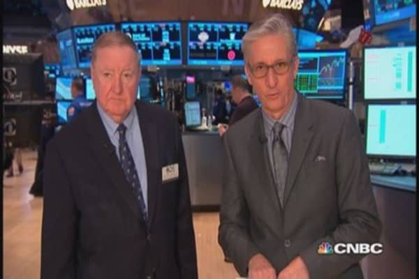 Cashin says: Volatility good for somebody... not sure who