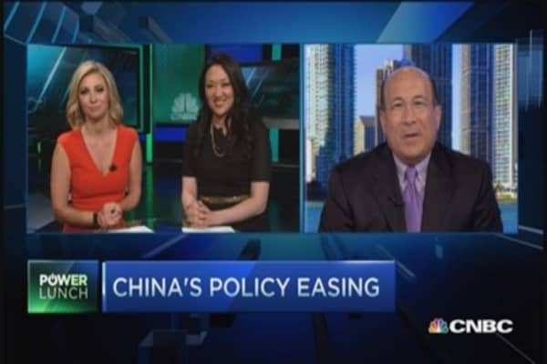 China's policy easing