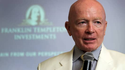 Mark Mobius, chairman of Templeton Asset Management