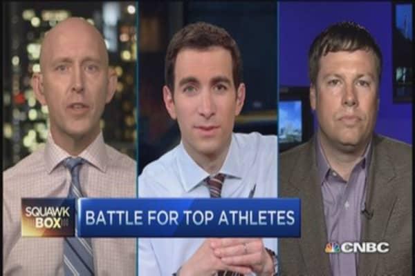 Sport's world war: Under Armour vs. Nike