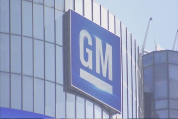 Investors driving back into GM stock