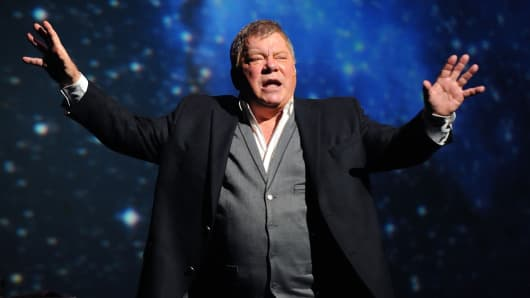 William Shatner.