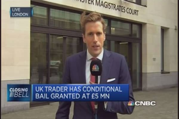 'Flash Crash' trader granted bail at £5m