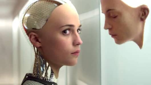 A scene from 'Ex Machina.'