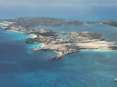 St. Martin, an island the Caribbean where as much as 80% of coral have been wiped out.