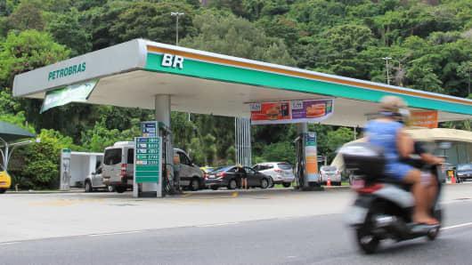 Petrobras gas station in Brazil