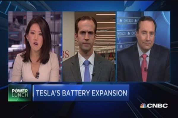 Tesla: Battery front runner?