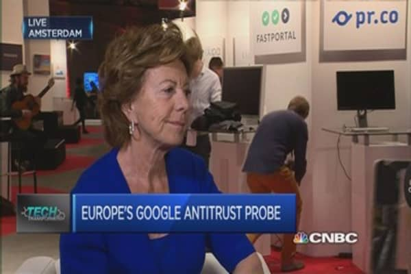 Firms in Europe need to follow the rules: Neelie Kroes