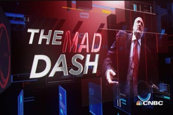 Cramer's Mad Dash: AT&T & Domino's