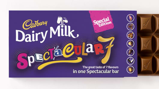 The Cadbury Dairy Milk Spectacular 7