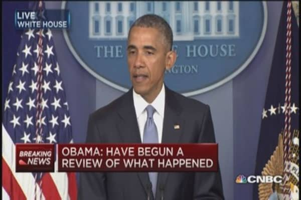 Obama: Sometimes deadly mistakes can occur