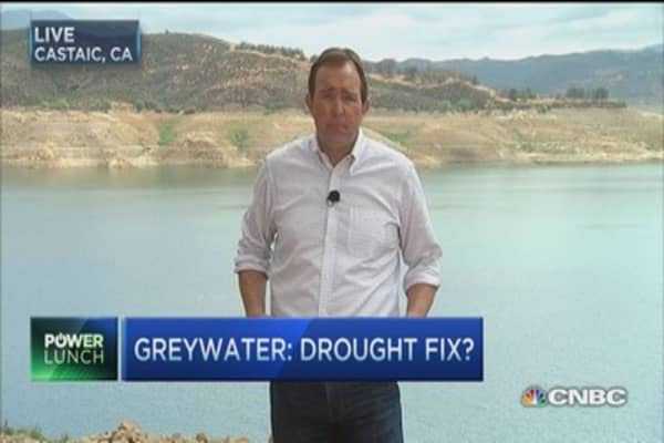 Greywater's drought fix
