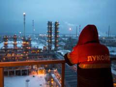 Russia Lukoil Oil Refinery