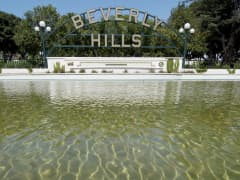 Beverly Hills drought water conservation