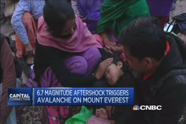Access top challenge in Nepal: British Red Cross