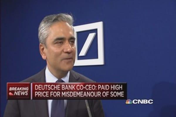 Overhaul is bold, strategic: Deutsche Bank Co-CEO