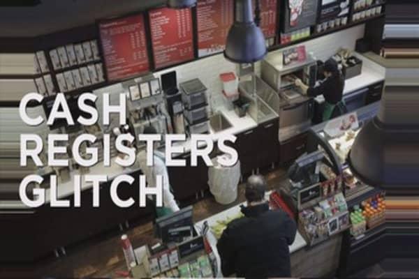 Starbucks cash register glitch