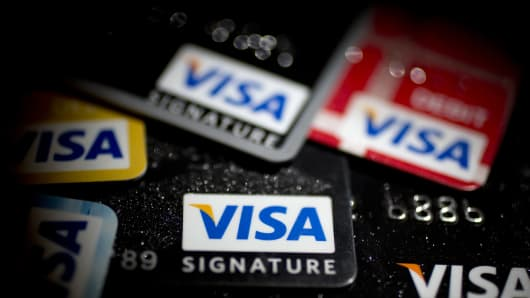 Visa 2Q profits fall, but results still beat expectations