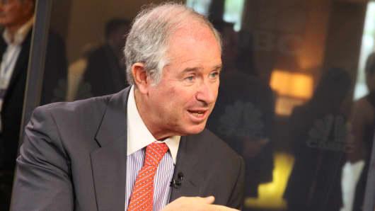 Steve Schwarzman, Blackstone's chairman and CEO.