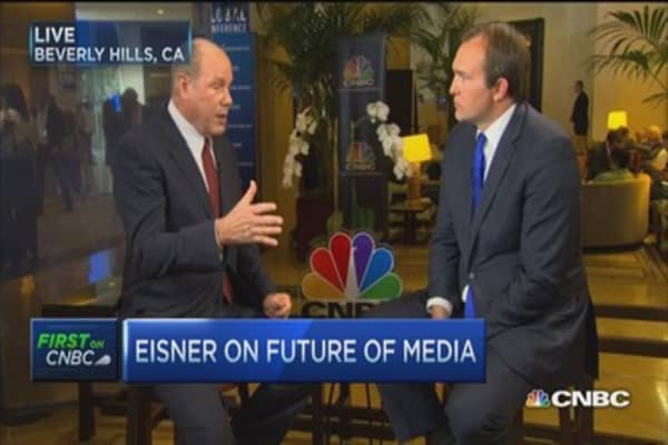 TV 5 years from now & where to invest: Eisner