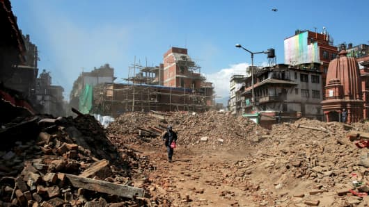 Nepal is still struggling to recover from the previous earthquake, which hit the country late last month