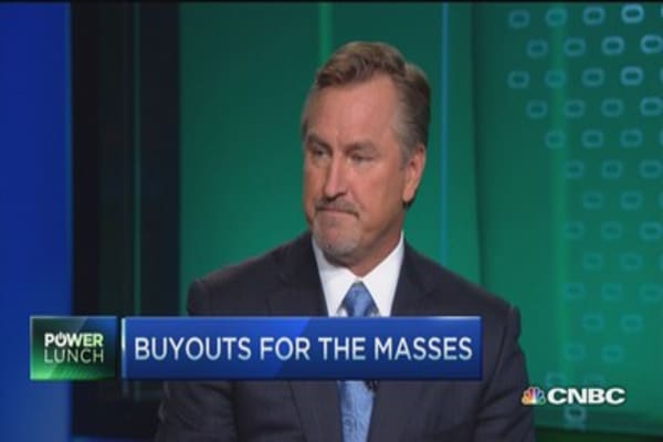 Buyouts for the masses