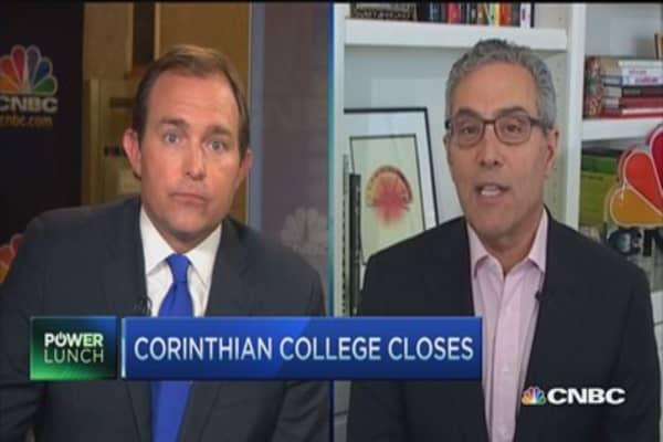Higher-ed stocks: Corinthian closing its last schools
