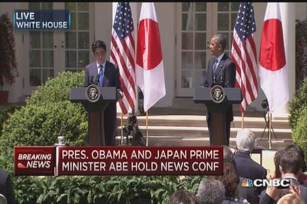 Japan's Abe: We have a dream to build peace and prosperity
