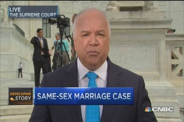 Same-sex marriage case