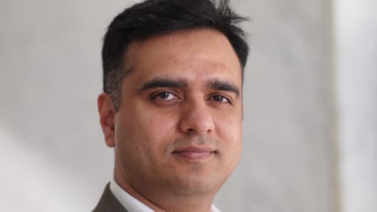 Dheeraj Pandey, founder and CEO of Nutanix