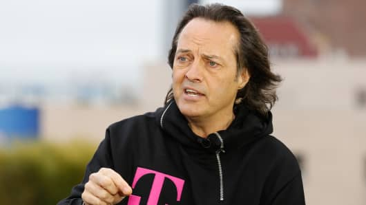 John Legere, president and CEO of T-Mobile