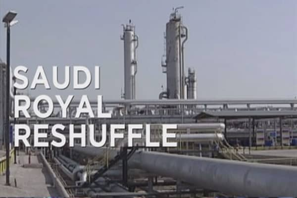 Saudi Arabia's royal reshuffle causes oil market tension