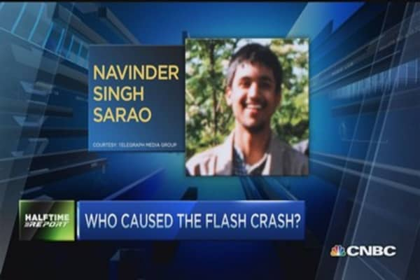 Who caused the 'Flash Crash?'