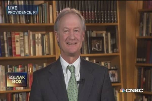 Lincoln Chafee likes his underdog chances