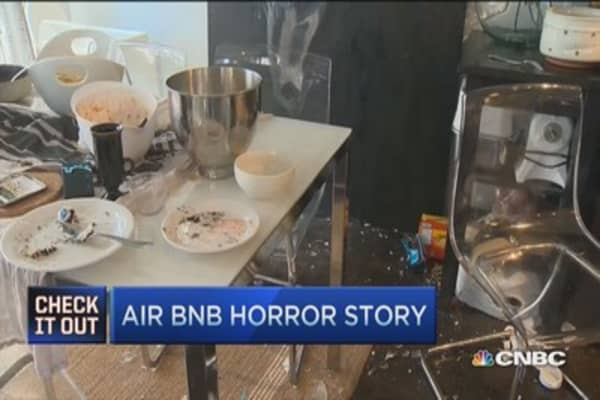 Calgary family's Air BNB horror story