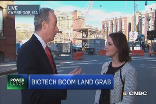 Biotech boom land grab